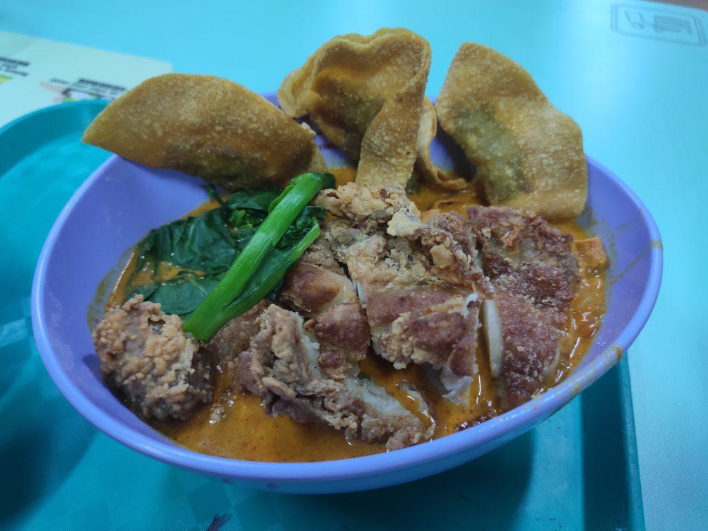 Ji Ji Noodle House: Chicken Cutlet Noodles