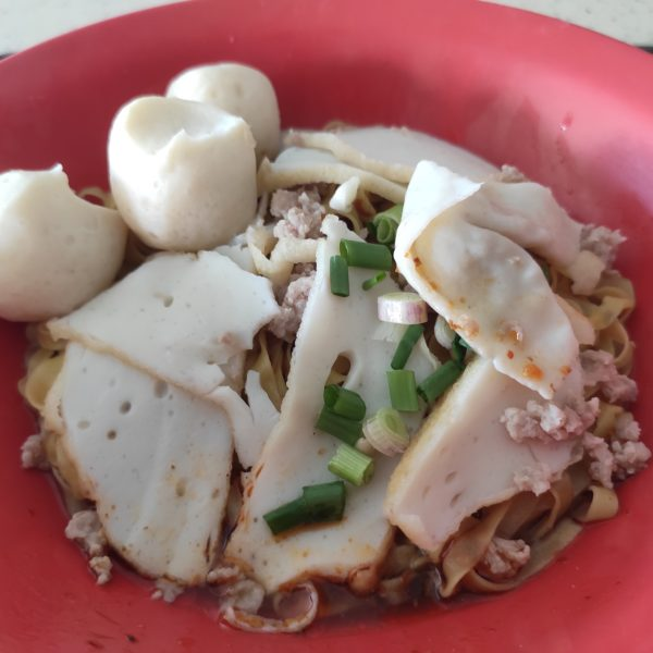 Review: Kim Fa Fish Ball Minced Meat Noodle (Singapore)