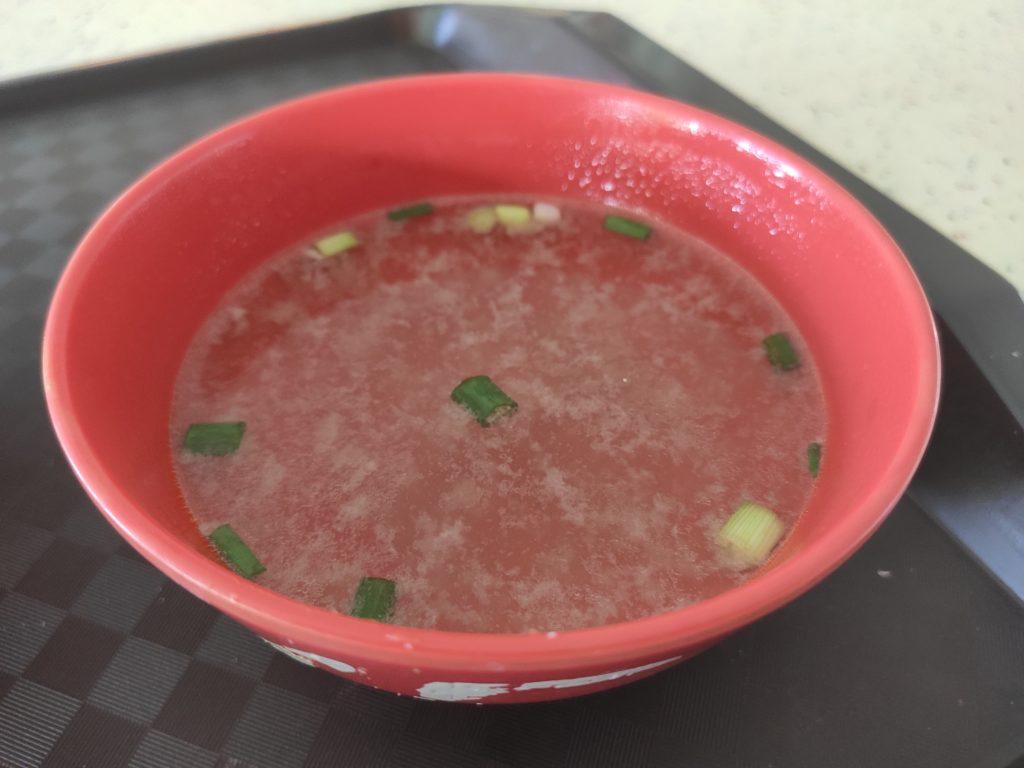 Kim Fa Fish Ball Minced Meat Noodle: Soup
