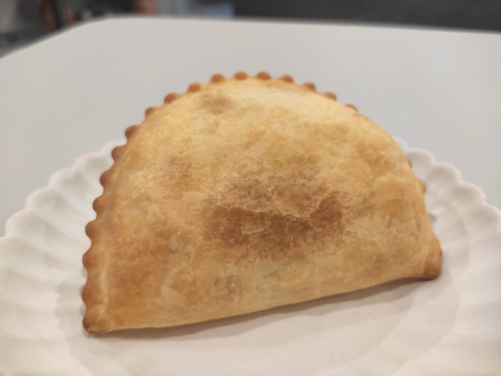 LR Boulangerie: Baked Curry Puff