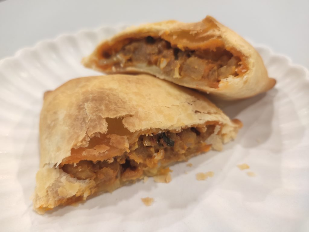 LR Boulangerie: Baked Curry Puff Filling