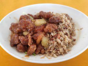 Lian Sheng Food Stall: Yang Zhou Fried Rice with Sweet Sour Pork