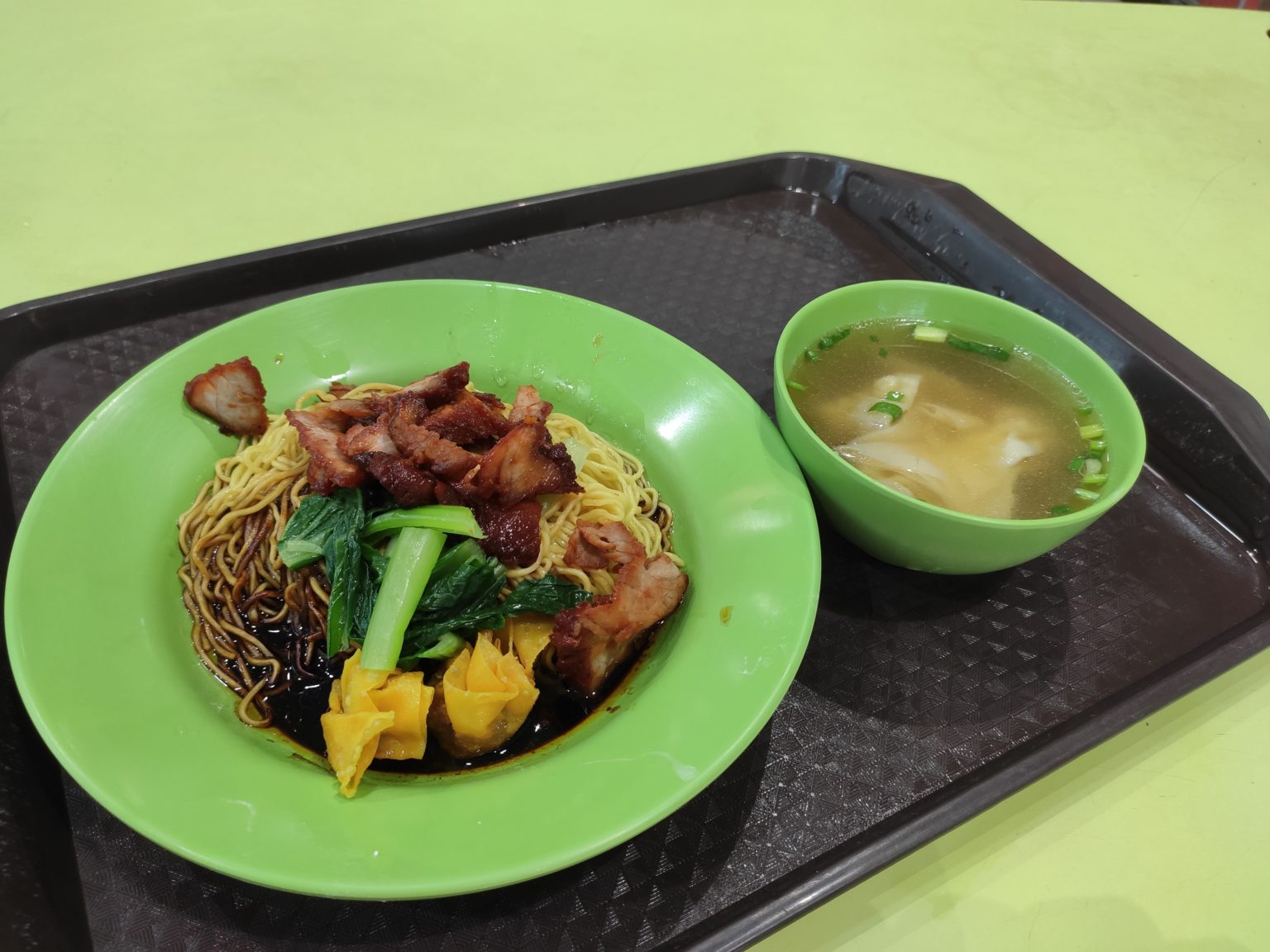 Review: Lucky Wanton Noodle (Singapore)