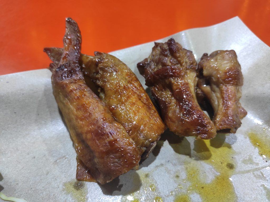 Mount Faber Chicken Wing Satay: Chicken Wings