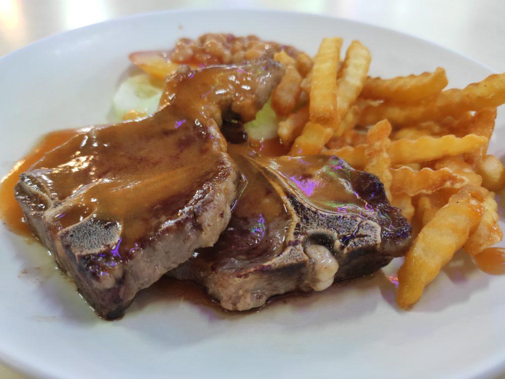 No. 1 Western Food: Lamb Chop