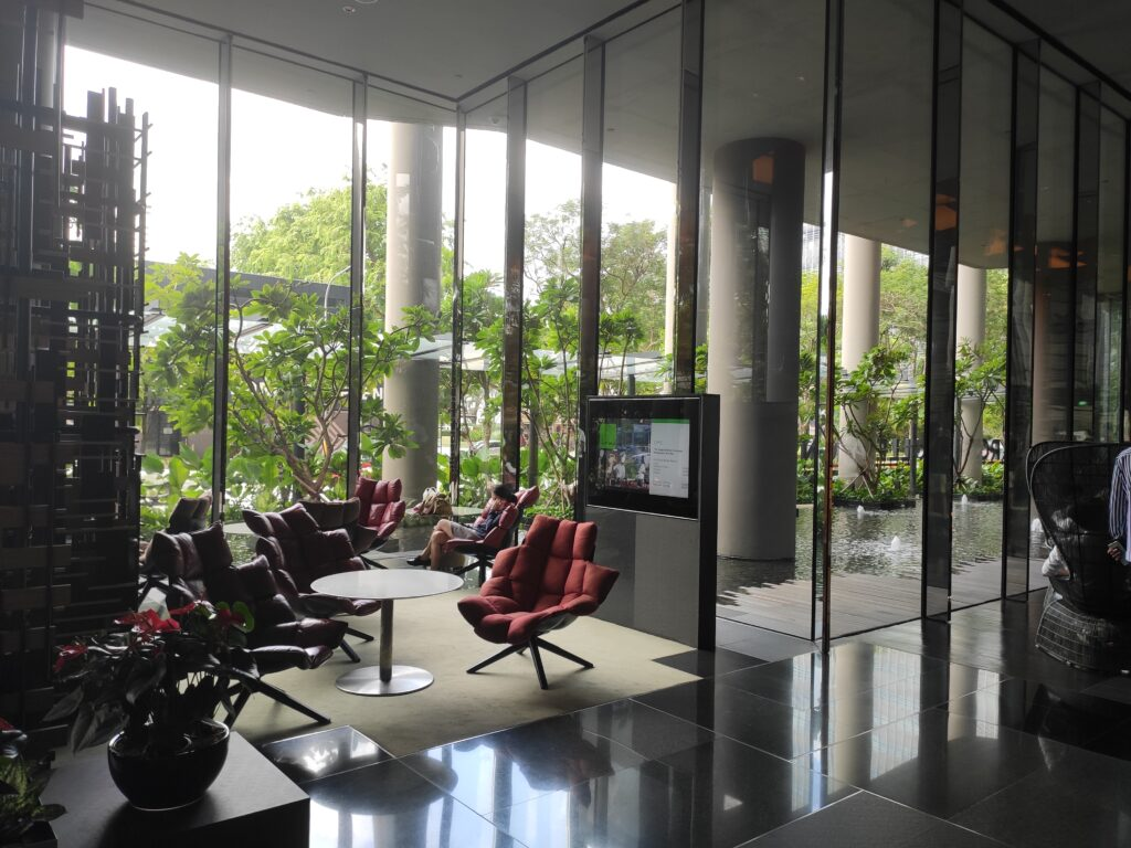 Parkroyal Collection Pickering: Hotel Lobby Lounging Chairs
