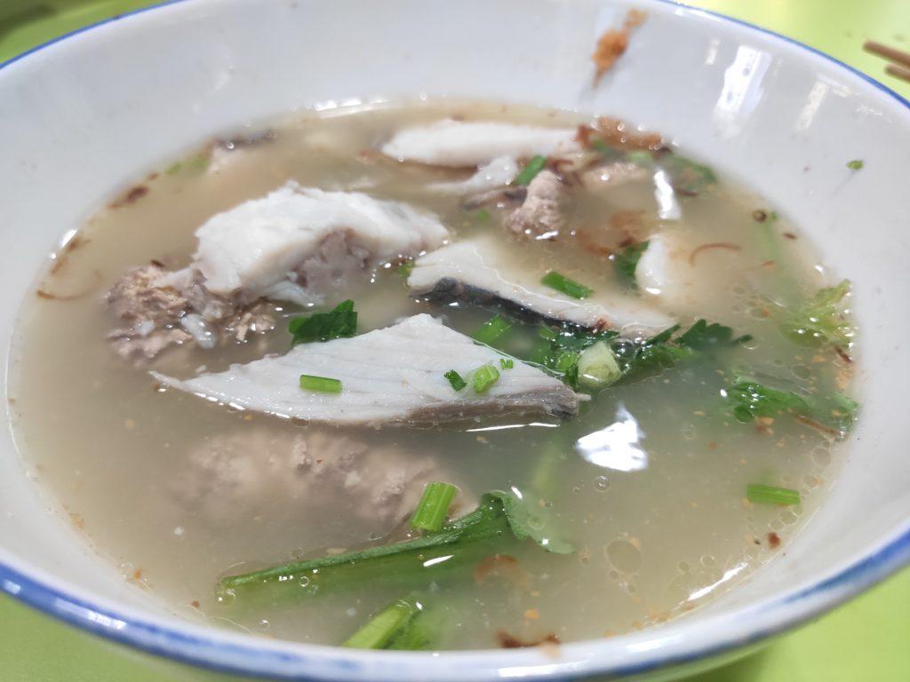 Piao Ji Fish Porridge: Fish Soup