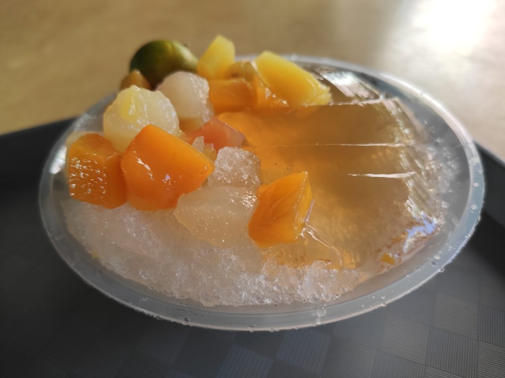 Qing Tian Cold & Hot Desserts: Ice Jelly Cocktail
