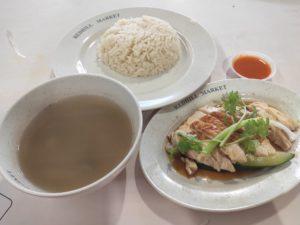 Rong Ji Traditional Hainanese Chicken Rice: Roast Chicken Set