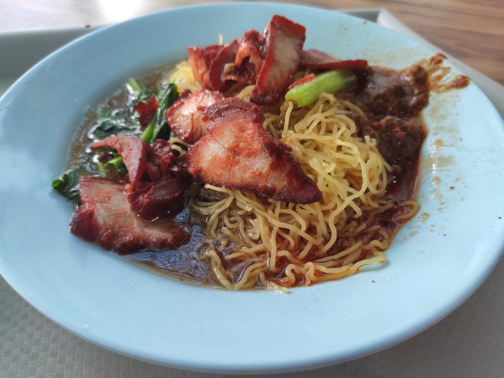 Sheng Ji Soya Sauce Chicken Rice Noodle: Char Siew Noodles