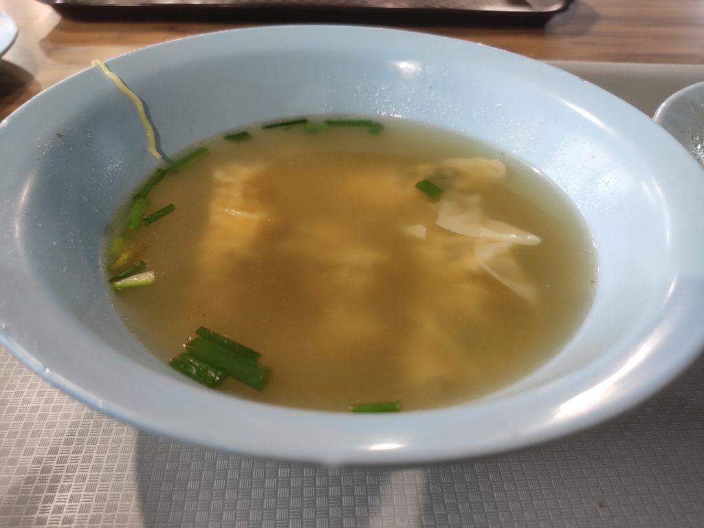 Sheng Ji Soya Sauce Chicken Rice Noodle: Dumplings Soup