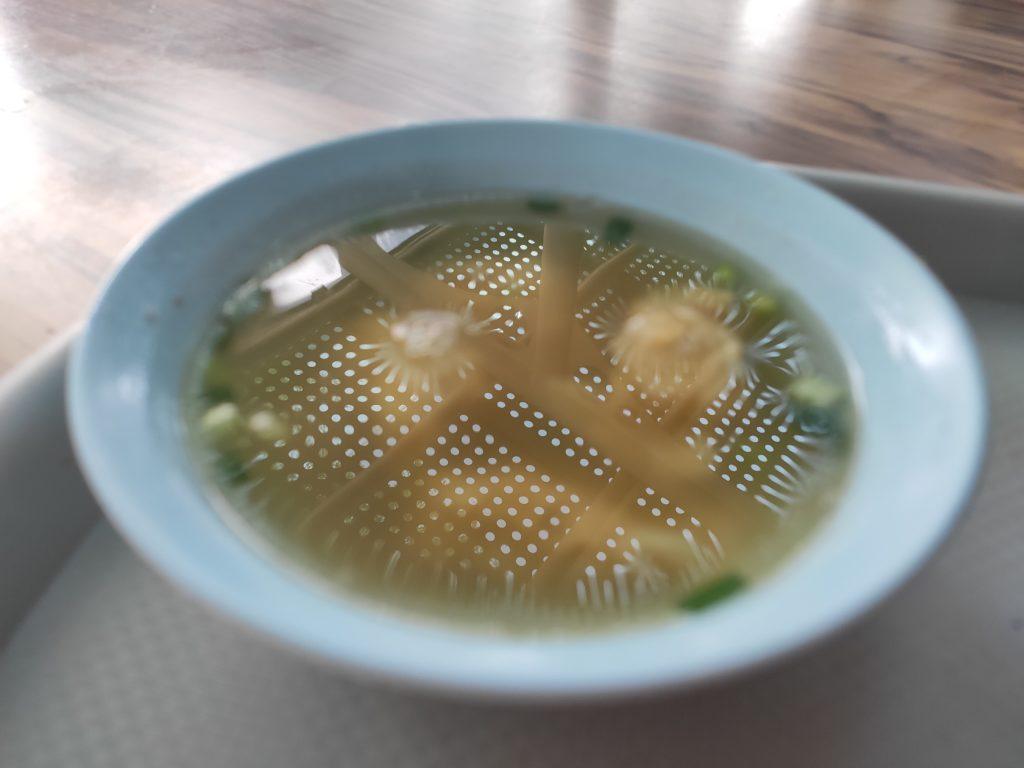 Sheng Ji Soya Sauce Chicken Rice Noodle: Wanton Soup