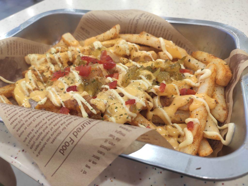 Skirt & Dirt: Cheese Dirt Fries