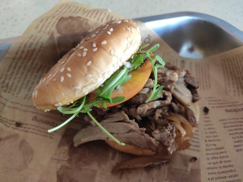 Skirt & Dirt: Duck Confit Burger