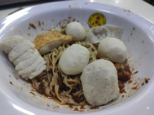 Song Kee Fishball Noodle: Mee Pok