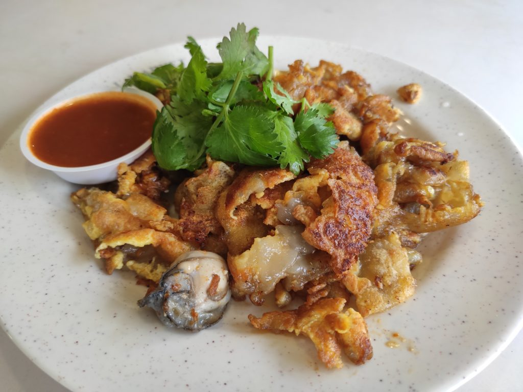 Song Le Local Fried Delights: Fried Oyster Omelette