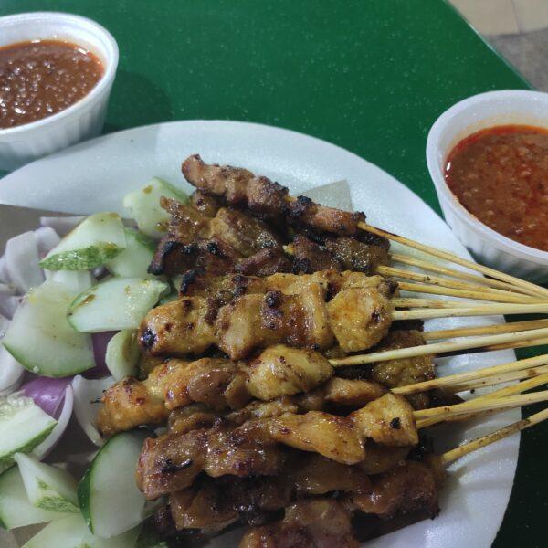 Review: Swee Huat BBQ Seafood Satay (Singapore)