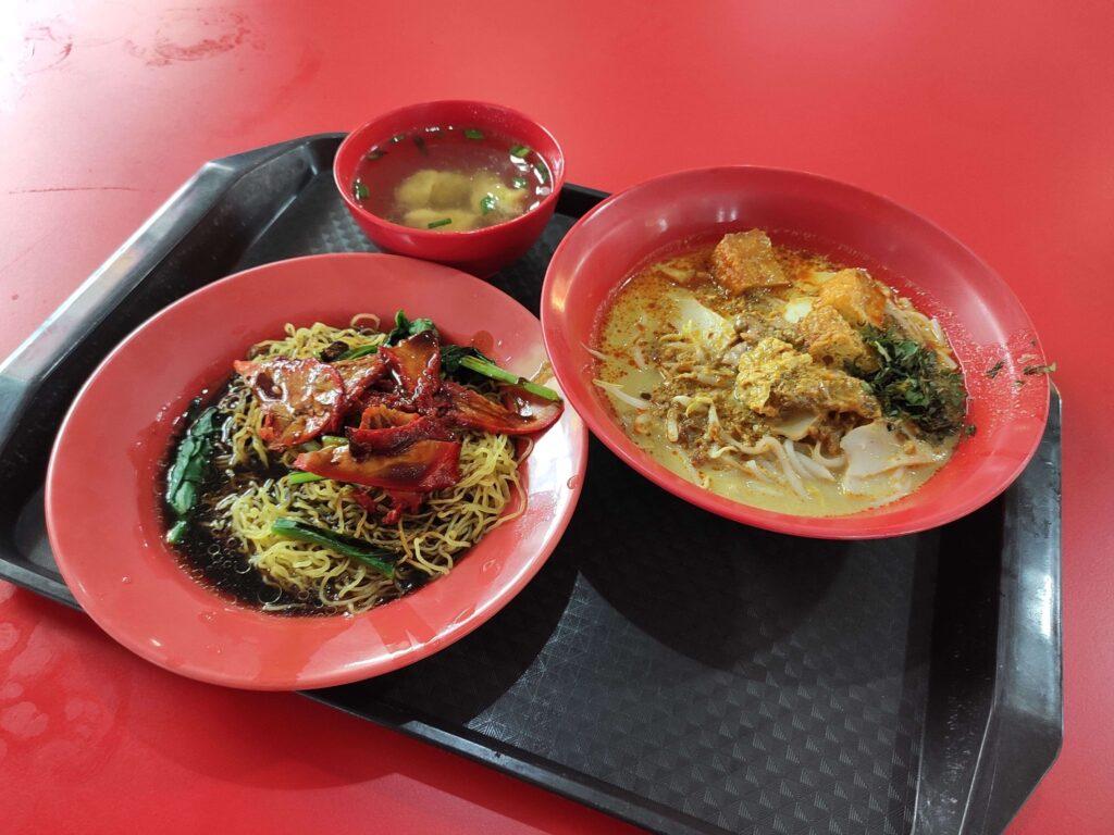 Swee Kee Wanton Noodles Laksa: Wanton Mee & Laksa