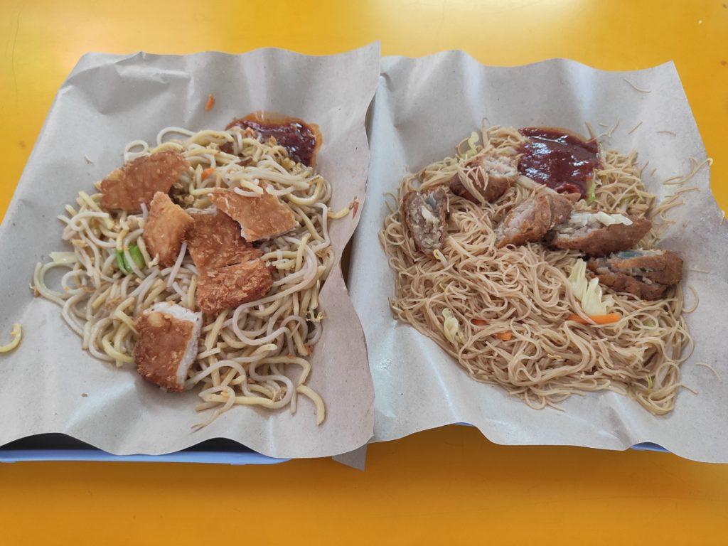 Tanglin Halt Kitchen: Fried Noodles & Fried Mee Hoon