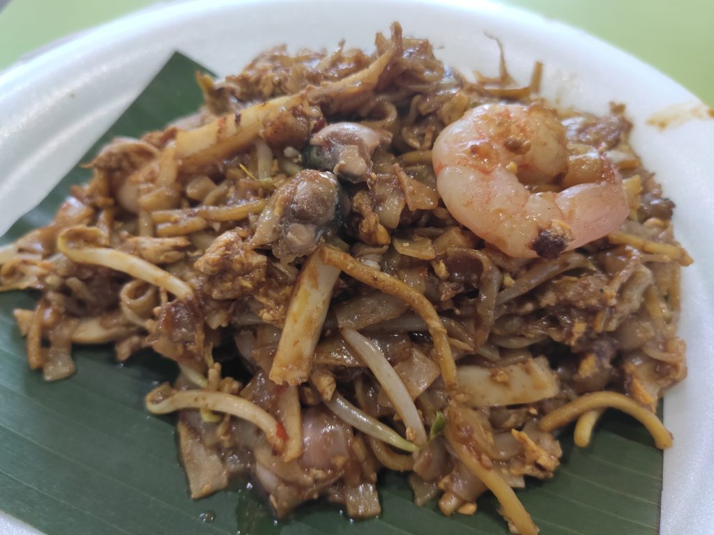 Tanjong Pagar Fried Kway Teow: Teochew Style Black Fried Kway Teow