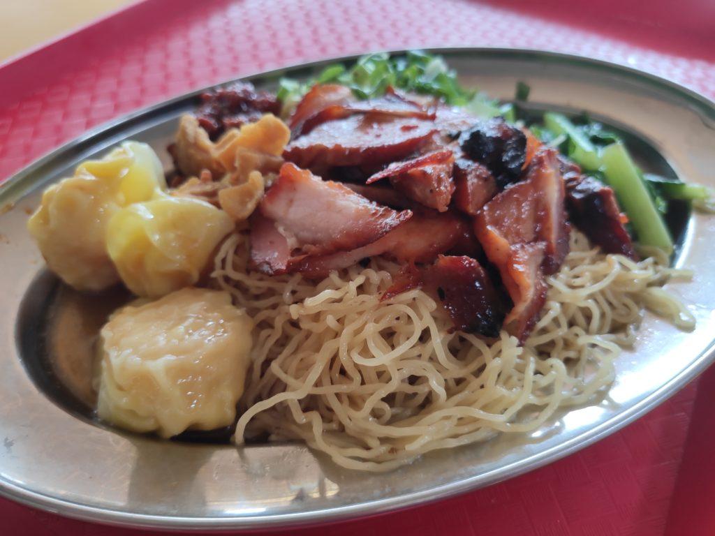 Taste The Kwang's Black: Char Siew Wanton Noodles