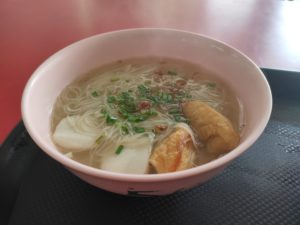 Tasty Soup Yong Tau Fu: Assorted Yong Tau Foo Soup with Mee Hoon