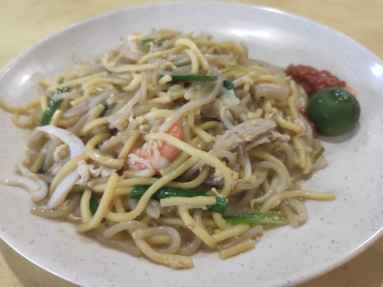 Review: Teck Kee Fried Hokkien Prawn Mee (Singapore)