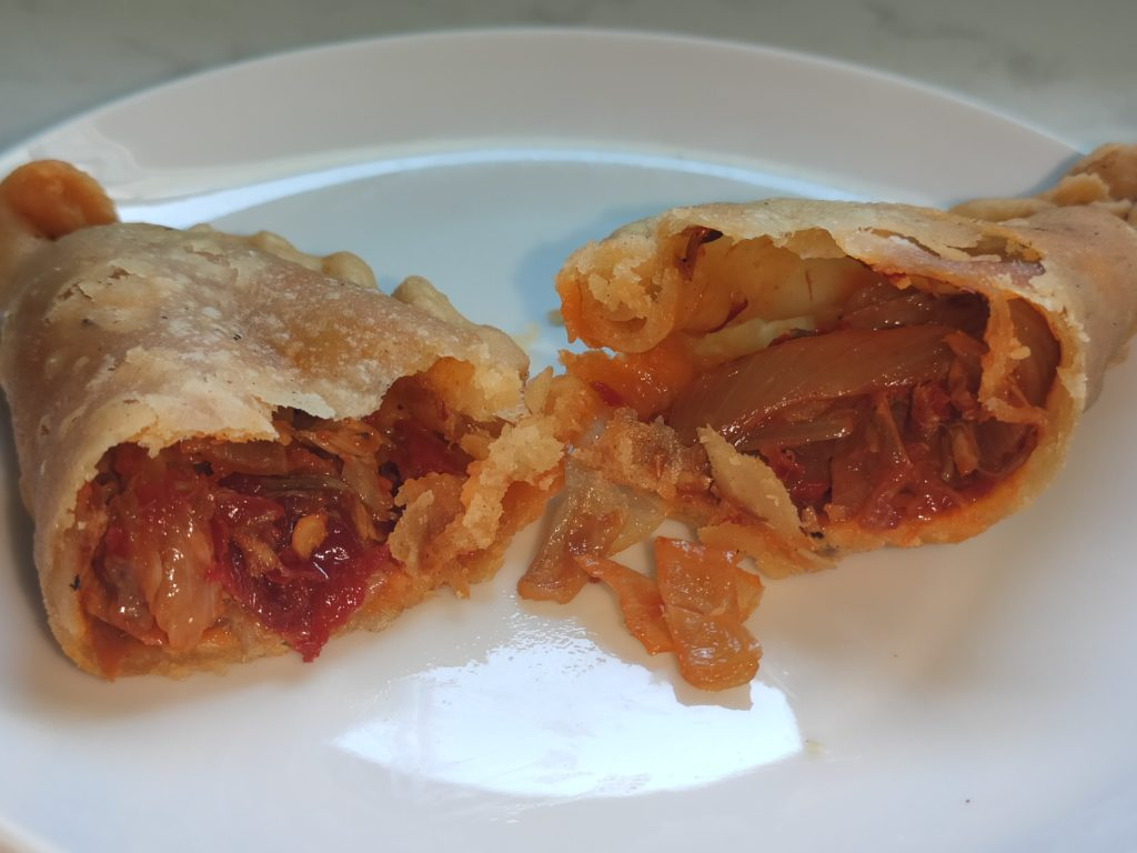 The Green Leaf: Sardine Curry Puff Filling