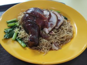 Tian Le Hong Kong Soy Sauce Chicken Rice & Noodle: Soy Sauce Chicken Noodles
