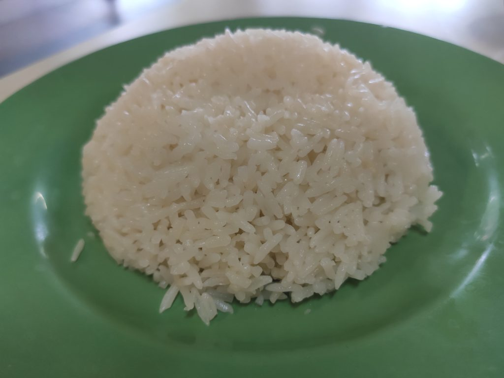 Tong Kee Chicken Rice: Rice