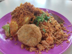 Warung OMC Oh My Chicken: Ayam Penyat Fried Rice