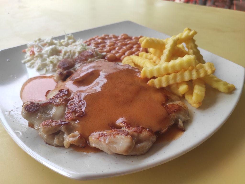 Western Hut: Chicken Chop
