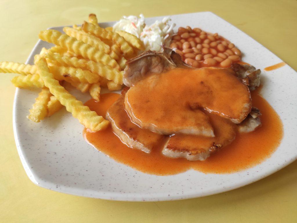 Western Hut: Pork Chop
