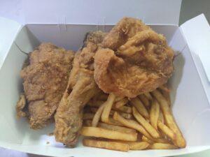 Winner's Fried Chicken: Mixed Chicken Set with Fries