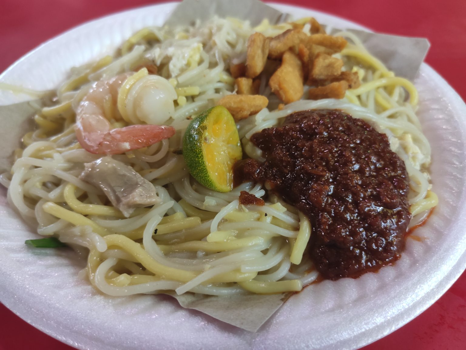 Review: Xing Ji Fried Hokkien Prawn Noodle (Singapore)