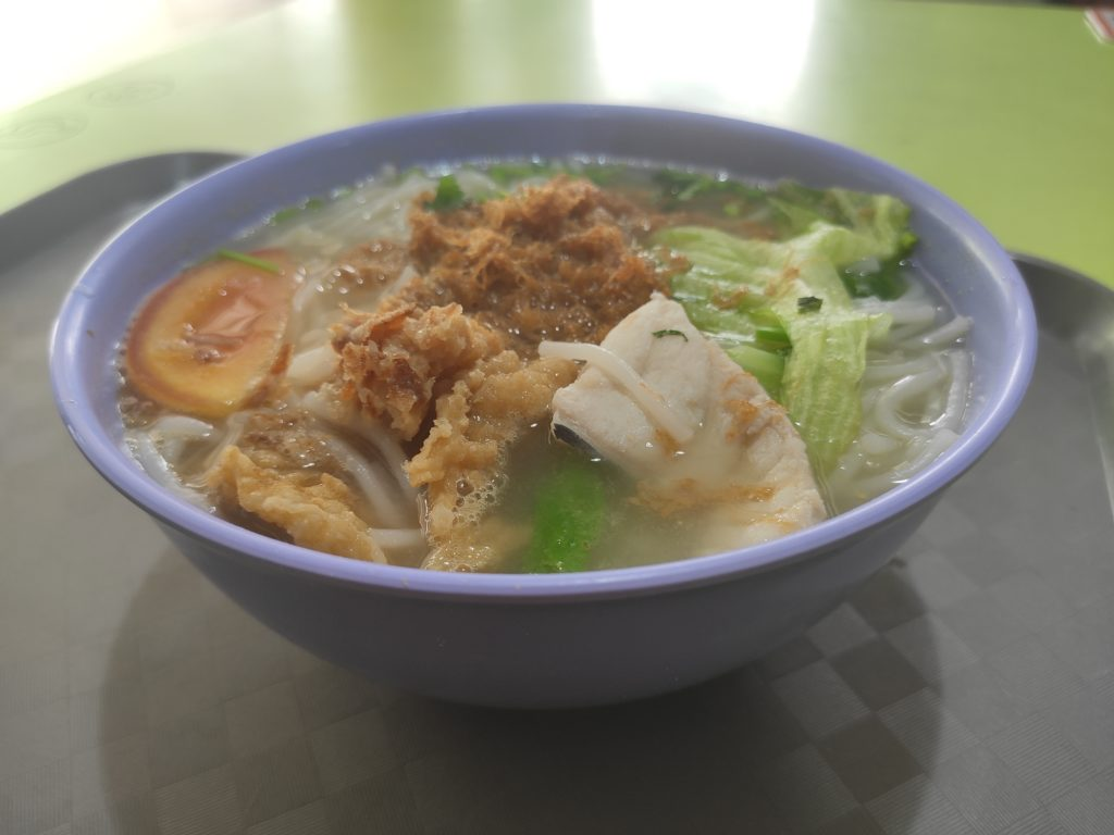 Xu Sheng Famous Fried Fish Soup: Double Fish Soup with Mee Hoon