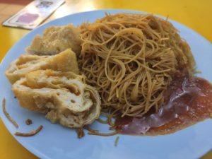 Yew Chuan: Fried Mee Hoon with Bean Curd Skin