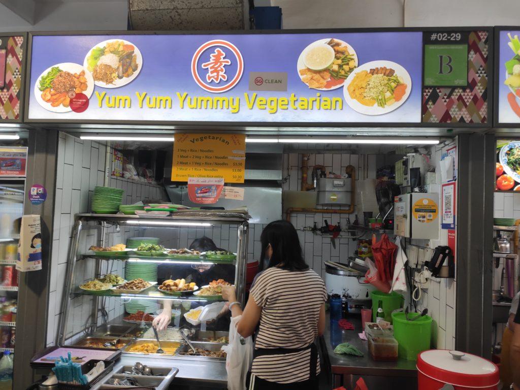 Yum Yum Yummy Vegetarian Stall