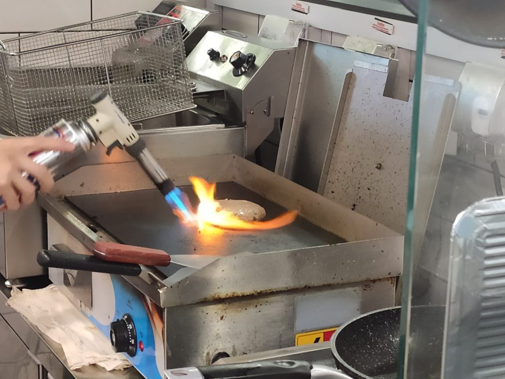 Zipp Burger & Pasta: Flame Grilled Beef Patty