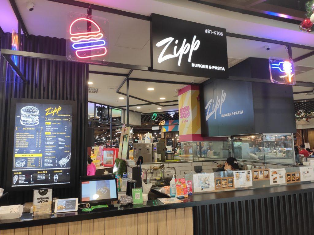 Zipp Burger & Pasta: Great World City