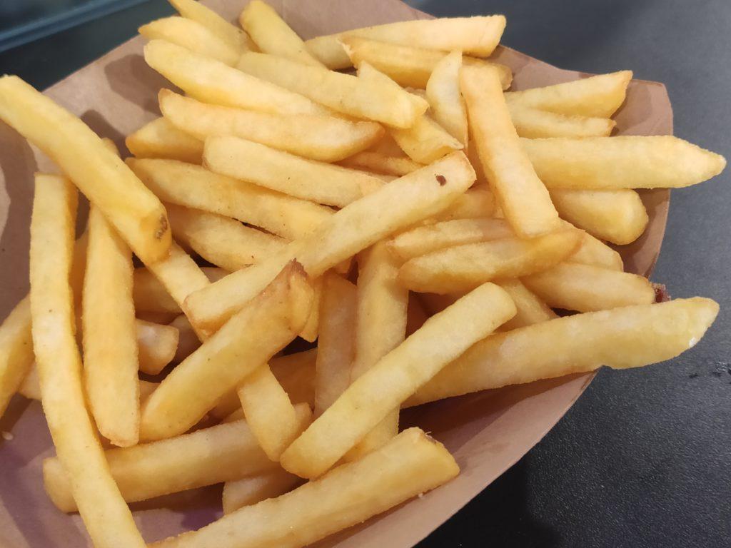 Zipp Burger & Pasta: Regular Fries