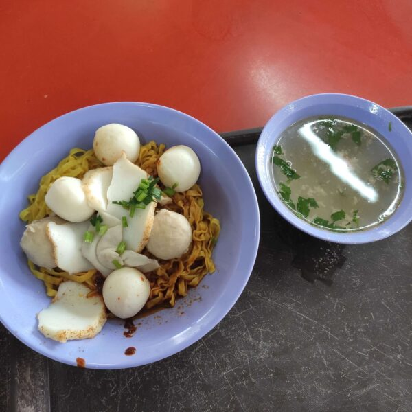 Review: Blue Dragonfly Minced Meat Noodle (Singapore)