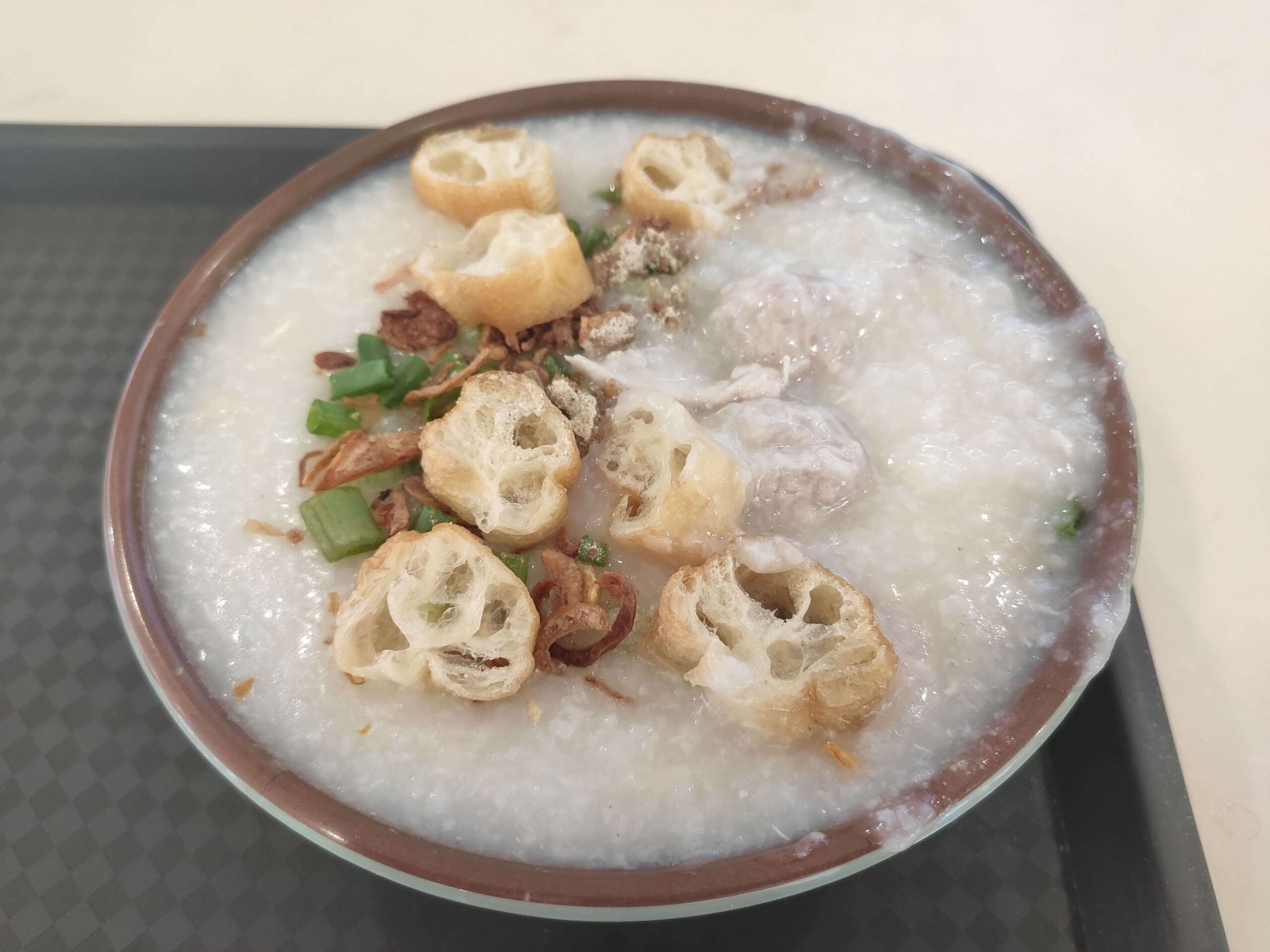 Reunion Porridge: Sliced Pork & Pork Balls Porridge