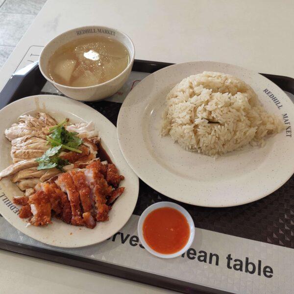 Review: 3 Hainanese Chicken Rice (Singapore)