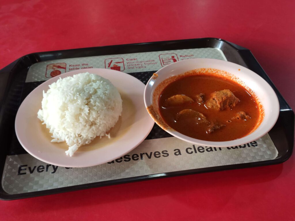 Na Na Curry: Mutton Curry with Rice
