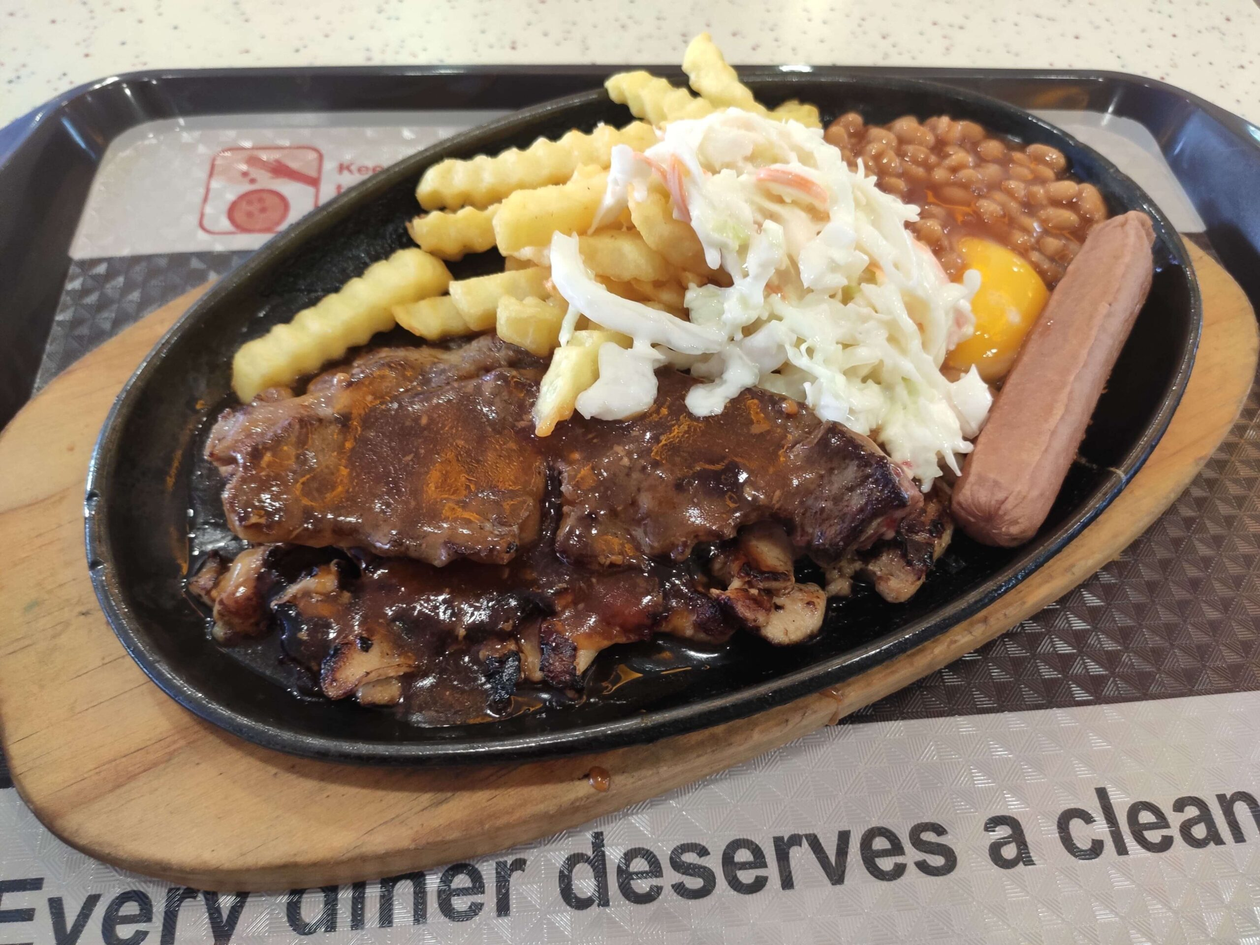 Tiong Bahru Hot Plate Western Food: Mixed Grill