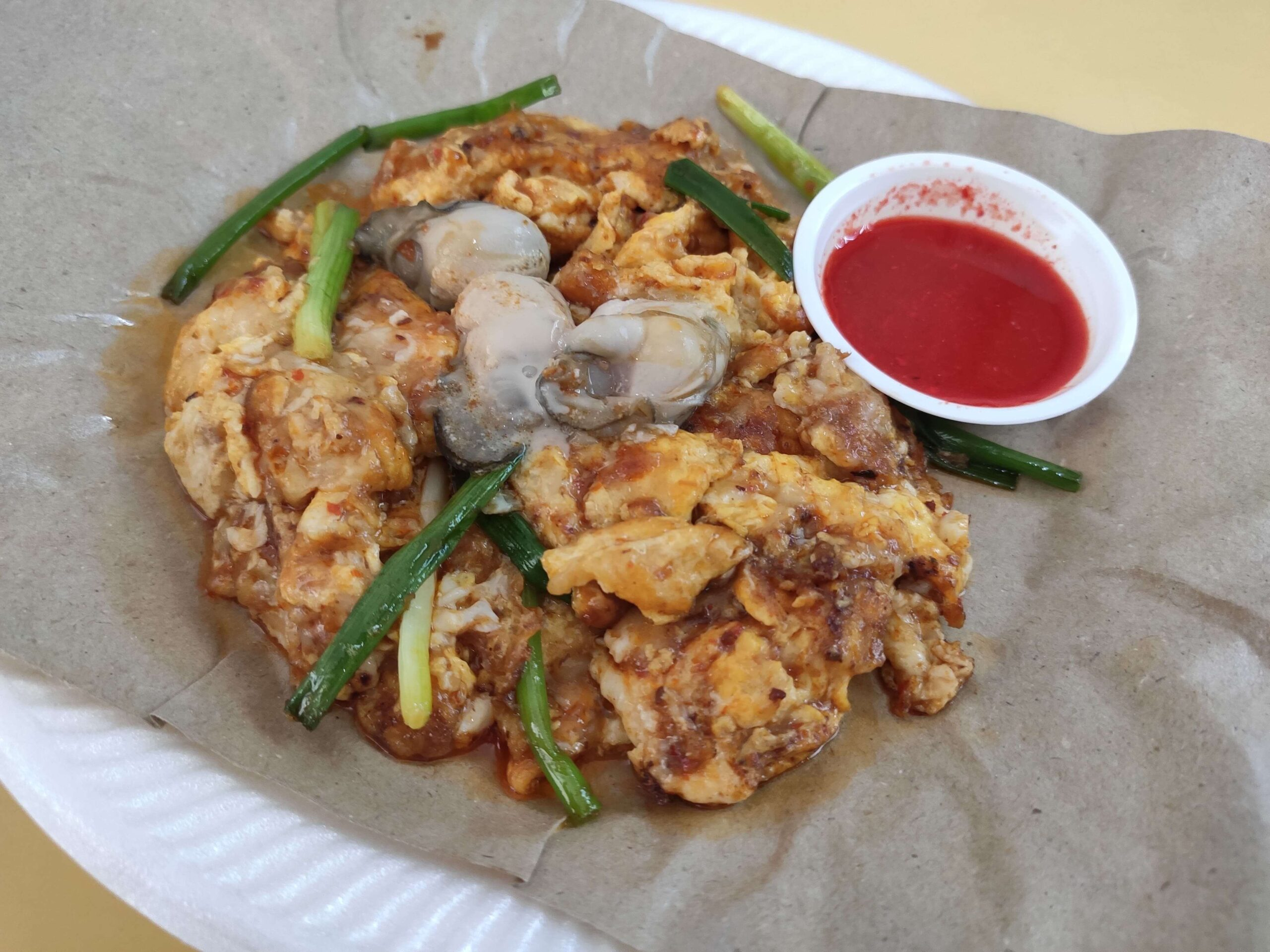 Xing Li Cooked Food: Fried Oyster Omelette