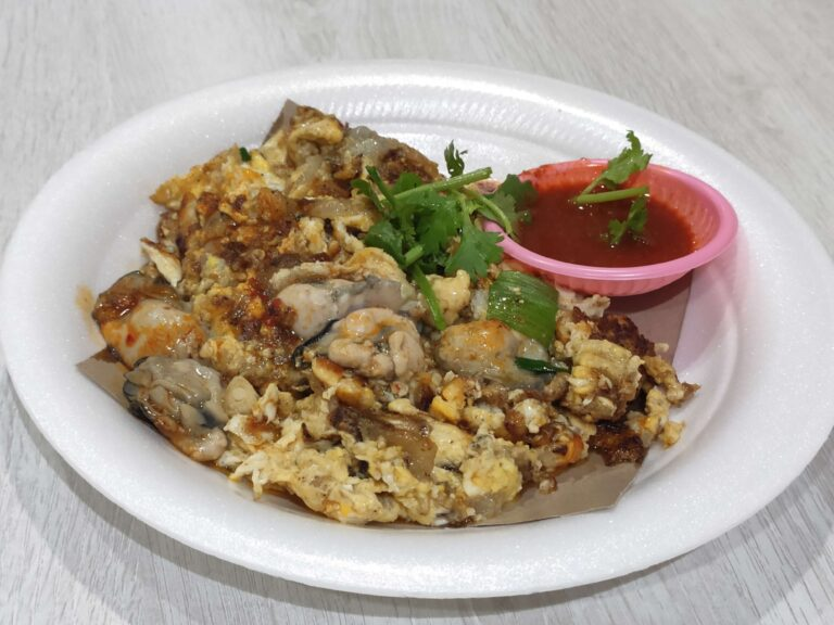 Lim's Fried Oyster: Fried Oyster Omelette