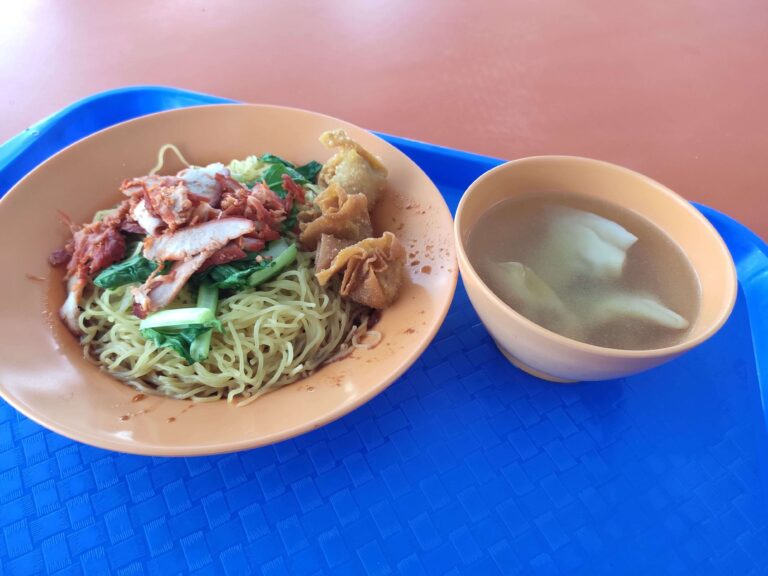 Poh Kee Traditional Wanton Noodle: Wanton Mee with Soup