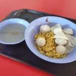 Yong Kee Famous Fish Ball Noodle: Mee Pok with Soup